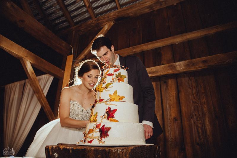 Homiak Photography | Rachel + Matt | Barn at Hidden Acres ...